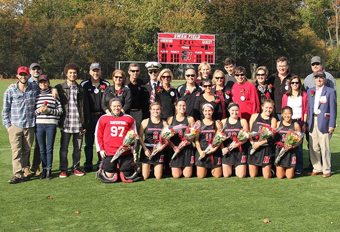 Field Hockey Clinches Playoff Berth with 3-0 Win Over Swarthmore