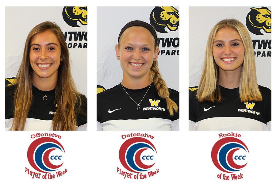 Women's Soccer Sweeps CCC Weekly Awards