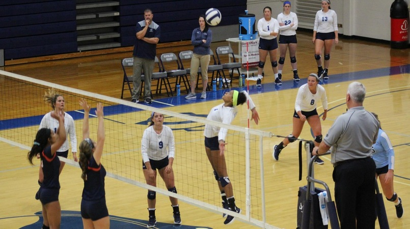 Lady Cougars split games in tri-match with Johnson University and Georgia Northwestern