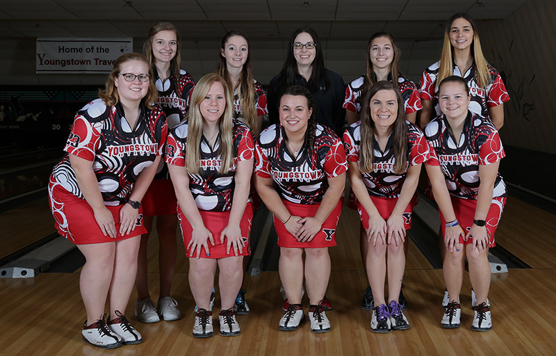 2017-18 Youngstown State Bowling Team