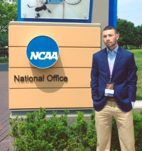 Casey Fitzpatrick's experience at last summer's NCAA Forum has led him to a new opportunity as an intern at NYSPHSAA