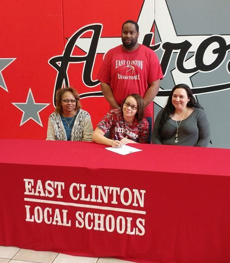East Clinton Senior Signs to Play st SSCC