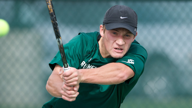 CLOSE MATCH GOES AGAINST MEN'S TENNIS AT USF