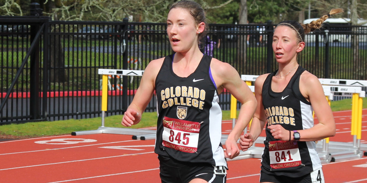Leah Wessler, Colorado College, Women's Track Athlete of the Week (Week 2)