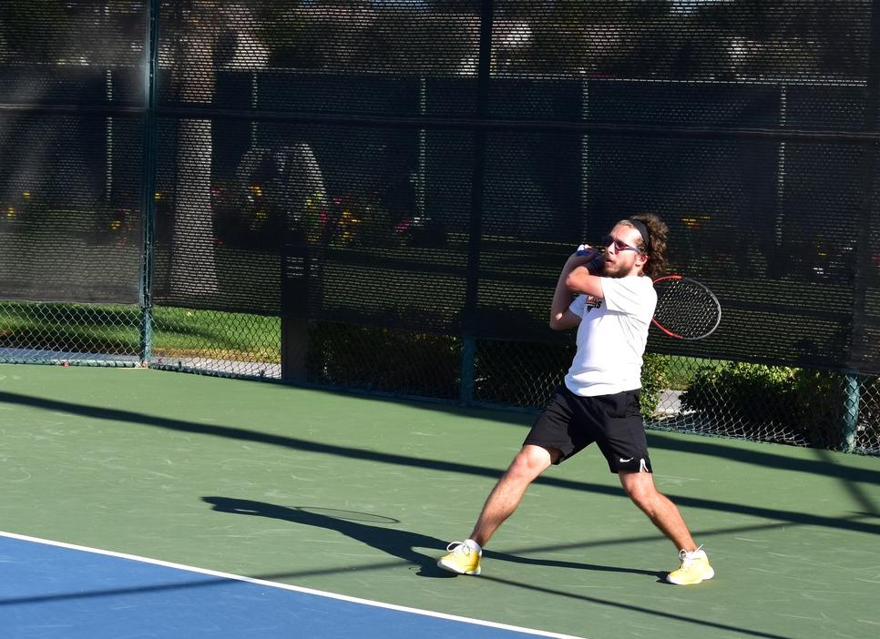 Men's Tennis Earns Third Seed in SCIAC Tournament