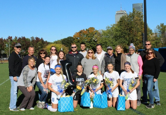 Late Goal Lifts Women's Soccer Past Colby-Sawyer on Senior Day, 2-1