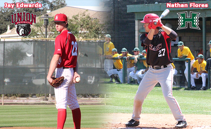Edwards and Flores Commit, Adding Two to the SAC Baseball Transfer List