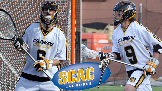 Colorado College's Paul, Murphy Named SCAC Men's Lacrosse Players of the Week