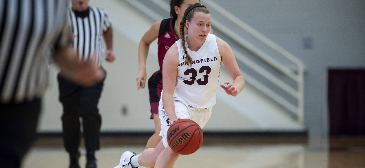 Women's Basketball Holds Off Coast Guard, 71-61, in NEWMAC Play