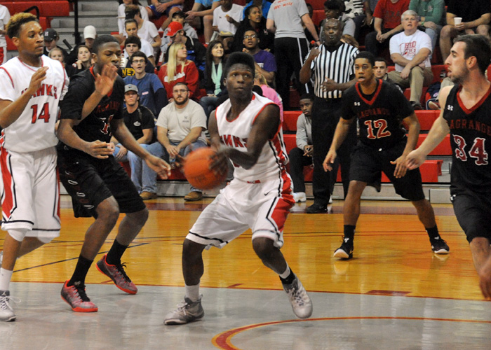 Dantavius Washington had 22 points and nine rebounds in Wednesday's 91-63 loss to LaGrange.