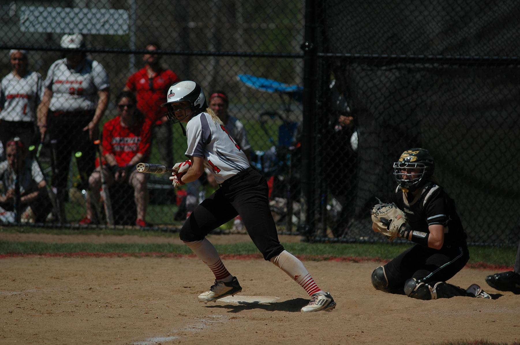 SOFTBALL TAKES TWO FROM EDINBORO UNIVERSITY
