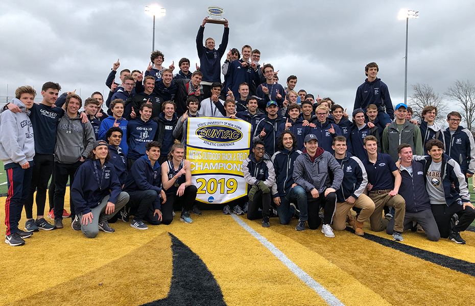 Geneseo wins 2019 Men's Outdoor Track & Field Championship