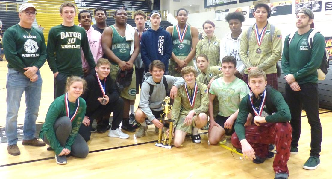 Gator Wrestling Team Finishes 2nd in Packer Classic