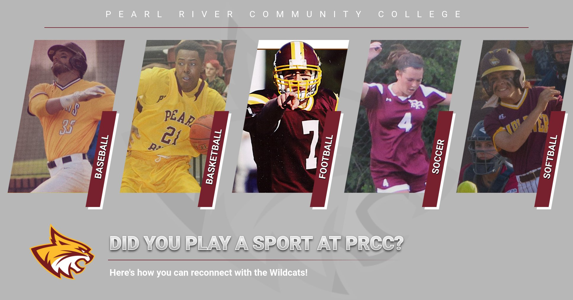 Did you play a sport at PRCC? Here's how you can reconnect with the Wildcats