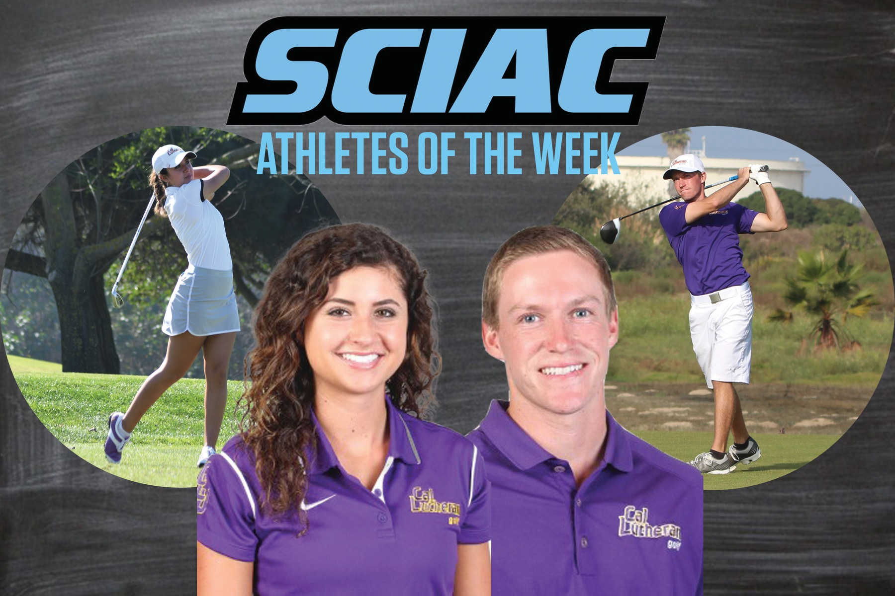 Ferrier and McCardell Earn SCIAC AOW Honors