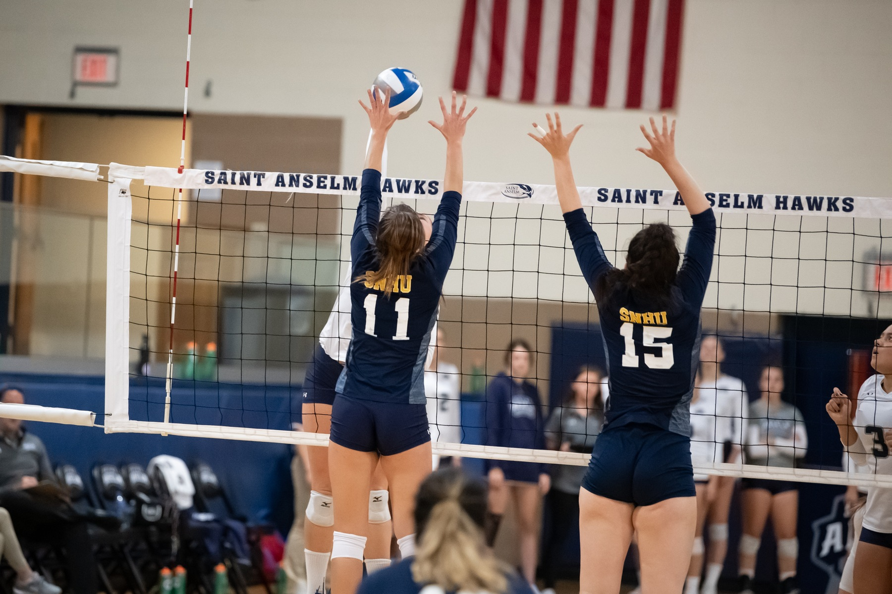 Volleyball Falls In Four Sets To Molloy