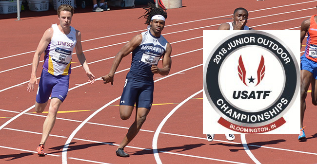 Zion Howard '21 runs in the 2018 NCAA Division III National Championships and qualified for 2018 USATF Junior Outdoor Championships.