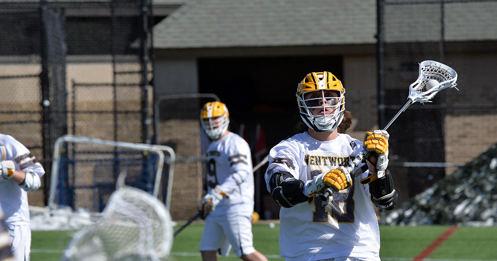 Men's Lacrosse Picks up First League Win