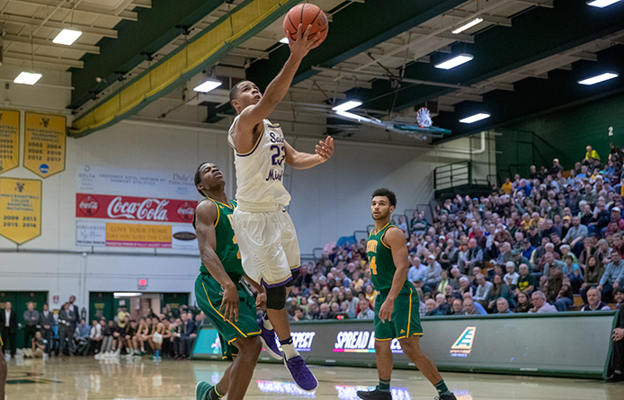 Men's Basketball Loses to Regional Power Saint Anselm, Nation's Fourth-Ranked Team