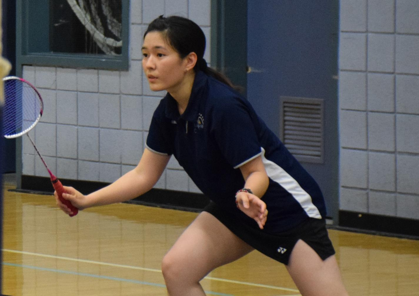 Women's badminton team continues to roll in conference