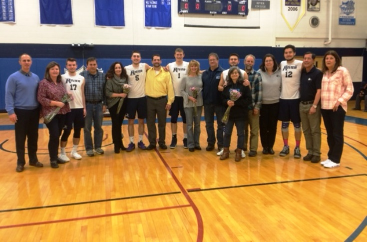 Men's Volleyball: Raiders honor Seniors with sweep of JWU