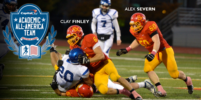 Finley, Severn earn Academic All-District Honors