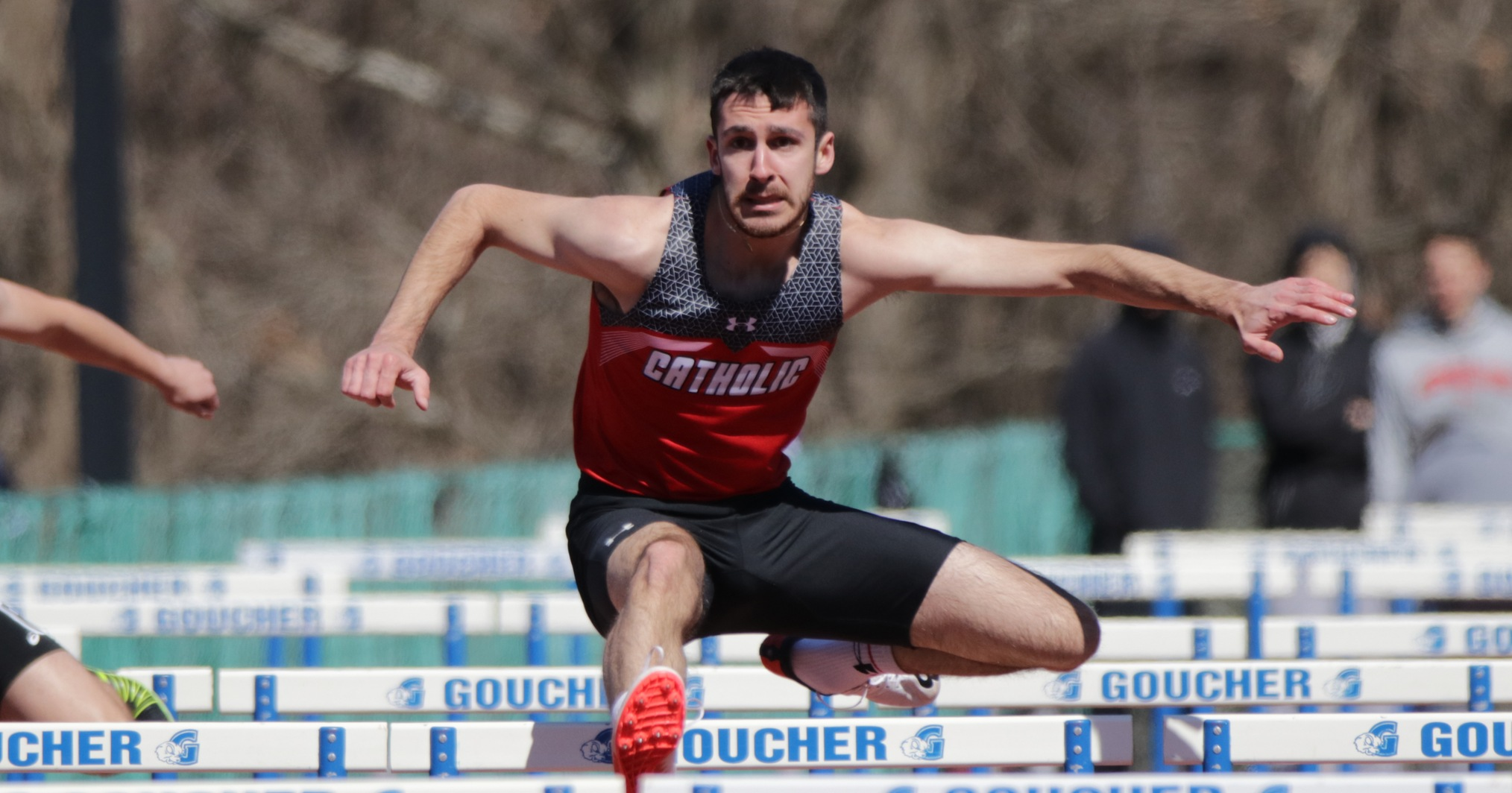 Cardinals Place Fifth in Outdoor Season Debut