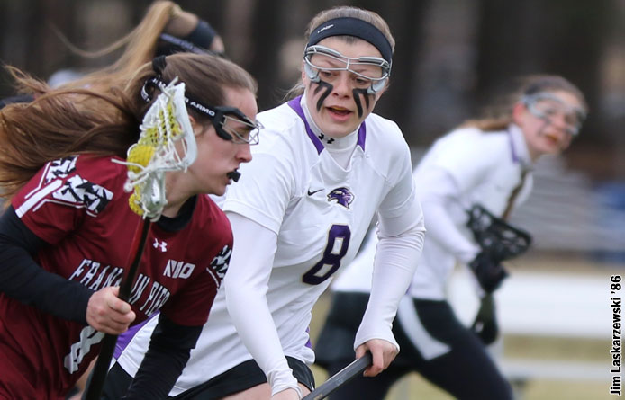 Women's Lacrosse Drops Decision to Nationally-Ranked New Haven