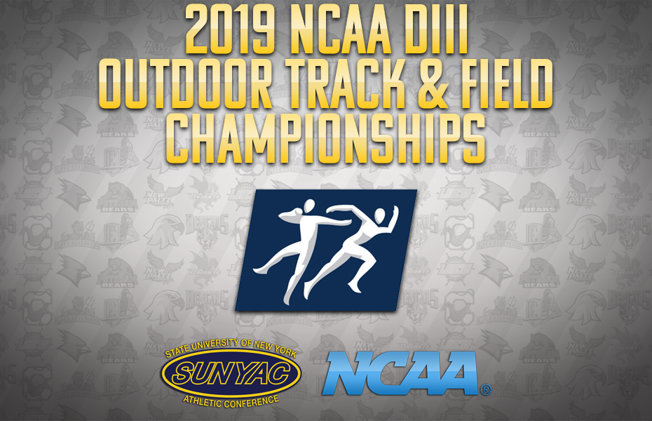 SUNYAC athletes to compete in 2019 NCAA DIII Outdoor Track & Field Championships in Ohio