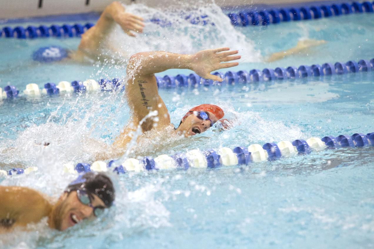 Cardinal Men Defeat Susquehanna in Dual Meet