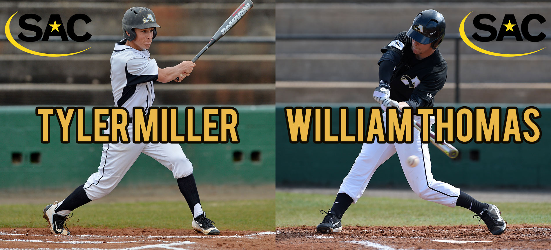 Thomas and Miller Earn Preseason All-Conference Honors; Trojans Tabbed 10th in Preseason SAC Baseball Coaches' Poll