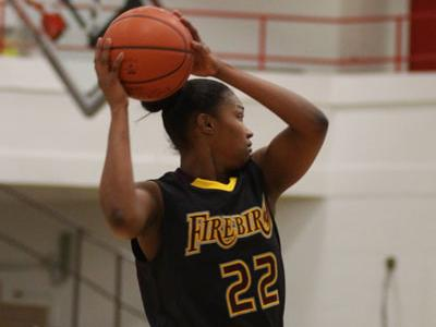 Stacy Griffith posts her first double- double of season with 12 points and 10 rebounds against Washington Adventist