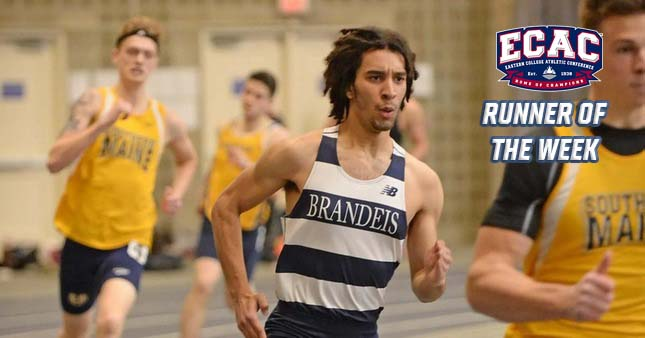 Gourde earns ECAC Division III New England Track Athlete of the Week