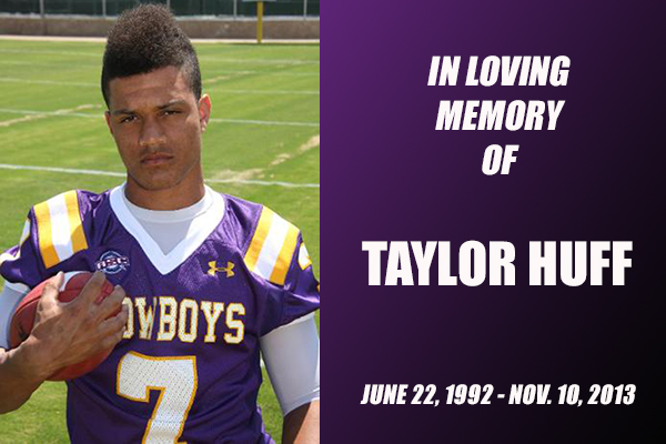 Cowboys Mourn The Loss Of Taylor Huff