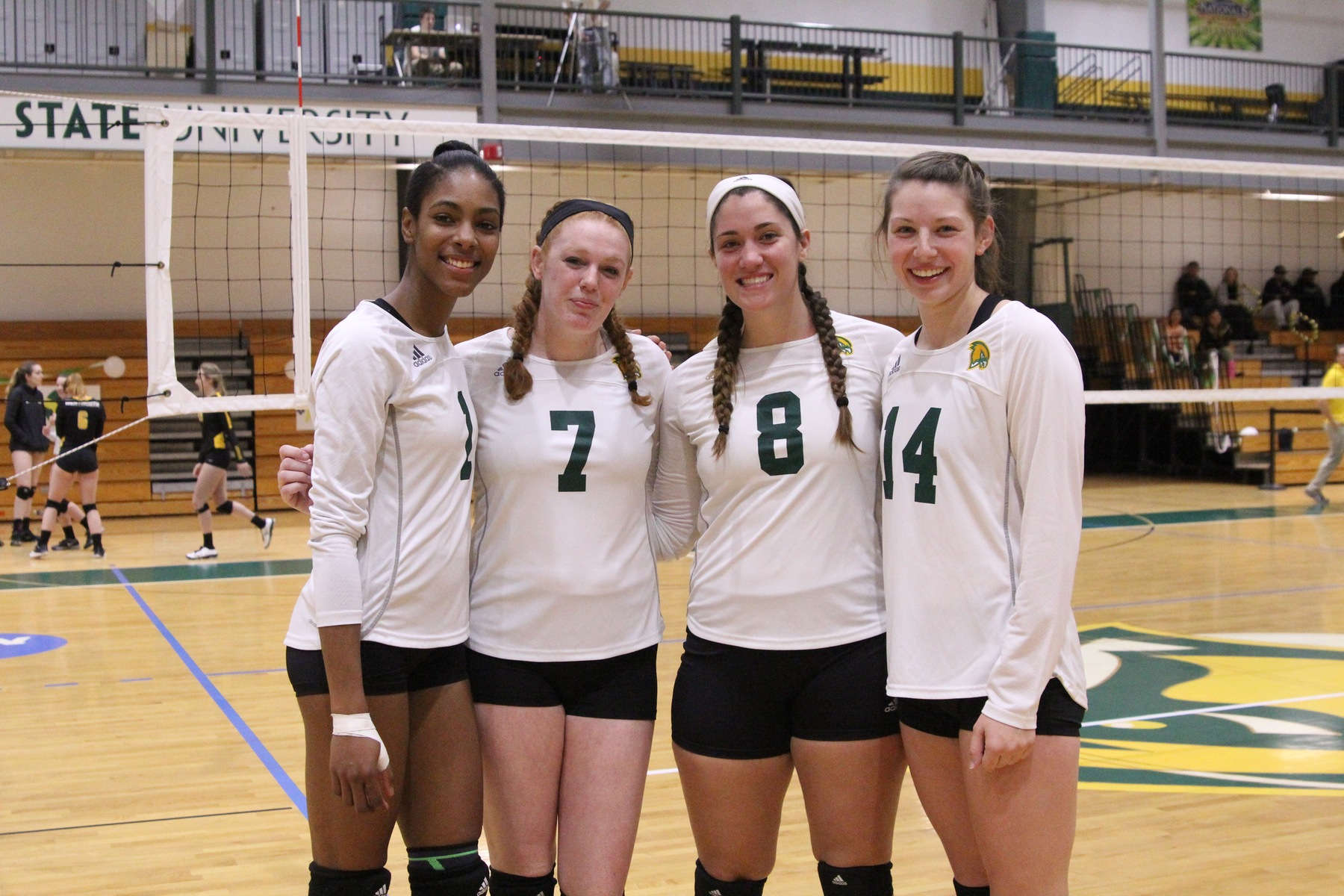 Falcons Host Tri-Match With Lancers & Leopards On Senior Day