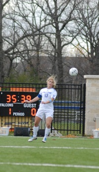 Falcon women earn soccer playoff spot