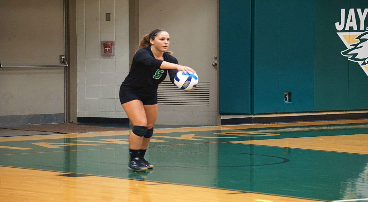 Women's volleyball vs Columbia-Greene CC (POD)