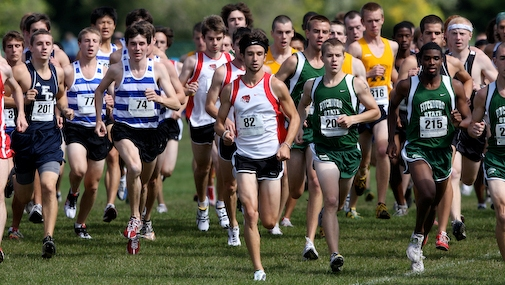 Bouchard Leads Men's Cross Country at Alliance Championships