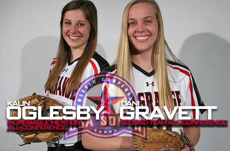 Softball: Panthers place Dani Gravett and Kalin Oglesby on USA South All-Conference team