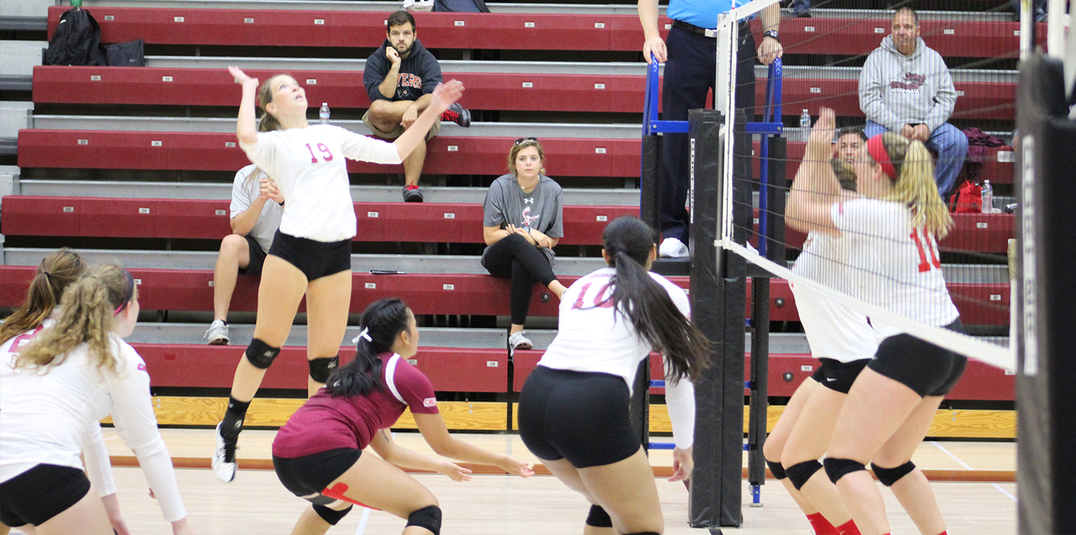 Women's Volleyball Battles Early; Falls to Chestnut Hill in Home-Opener