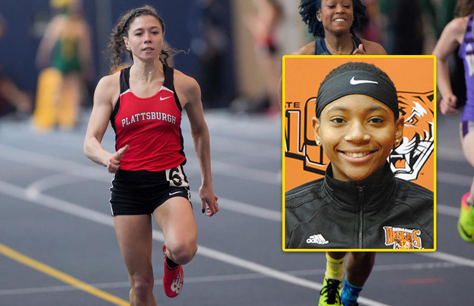 SUNYAC selects Women's Track and Field Athletes of the Week