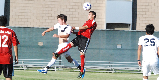 Dons Blank Irvine Valley 2-0 in Final Game on the Dons Field