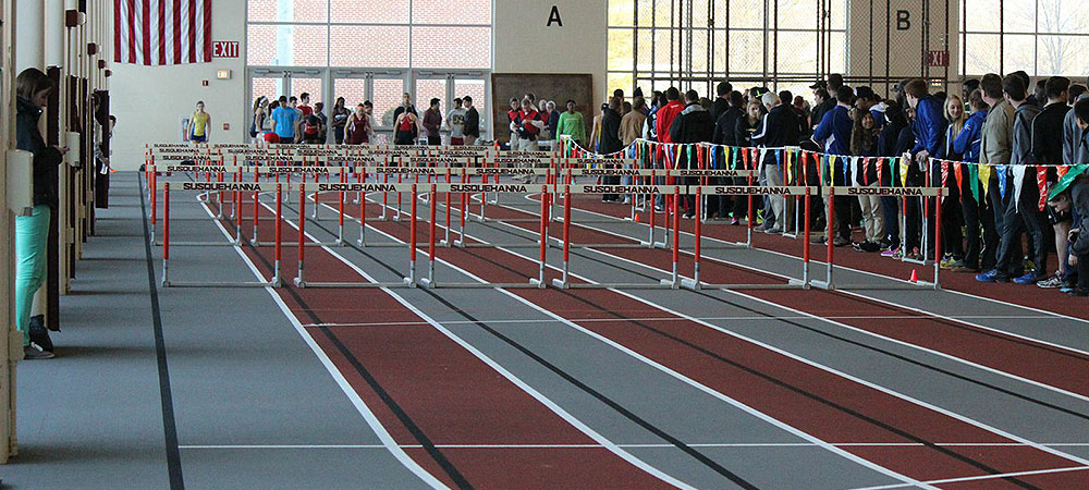 School records fall as Gallaudet men's track and field competes at SU Invitational