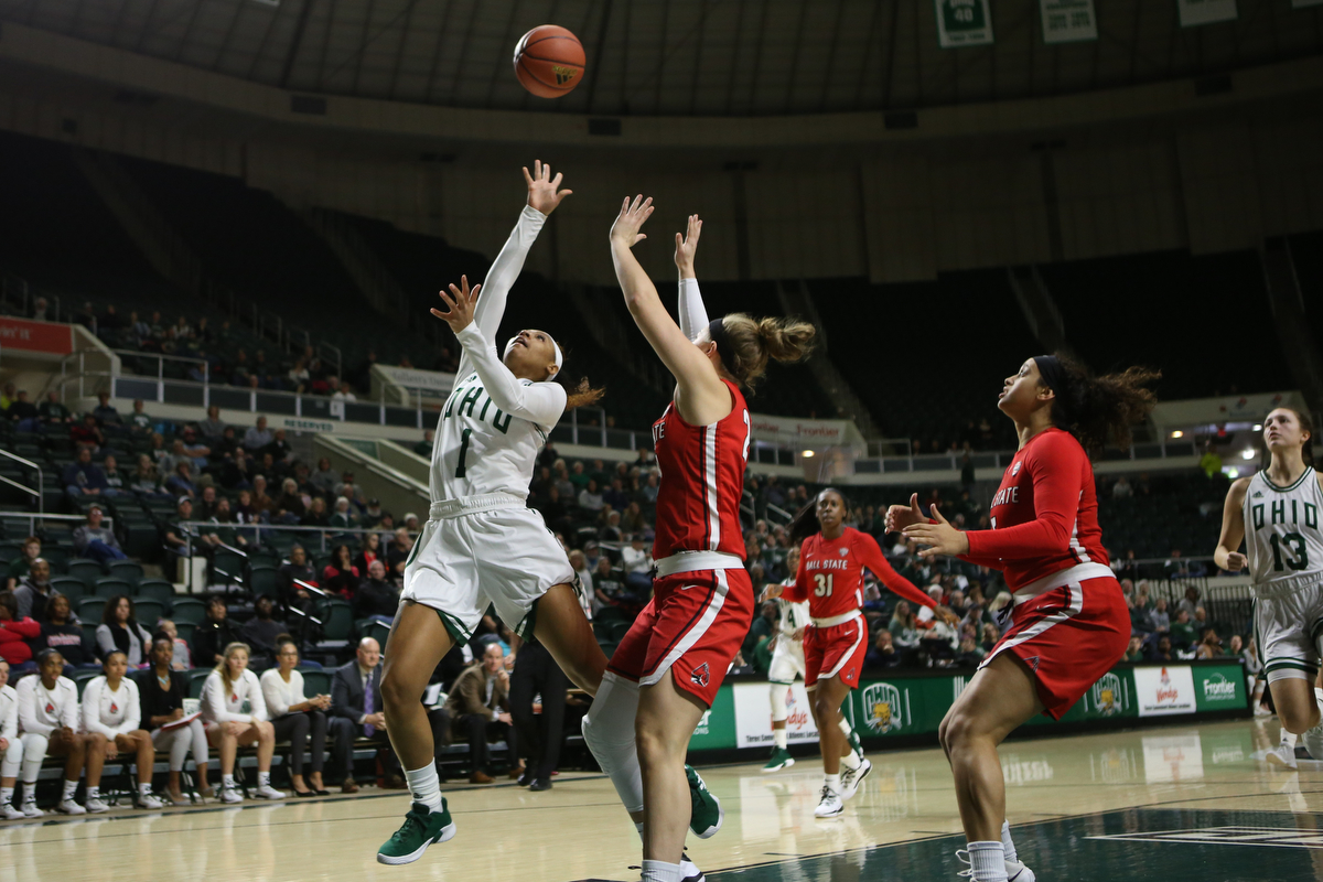 Ohio Women's Basketball Earns Road Win at Central Michigan, 78-75