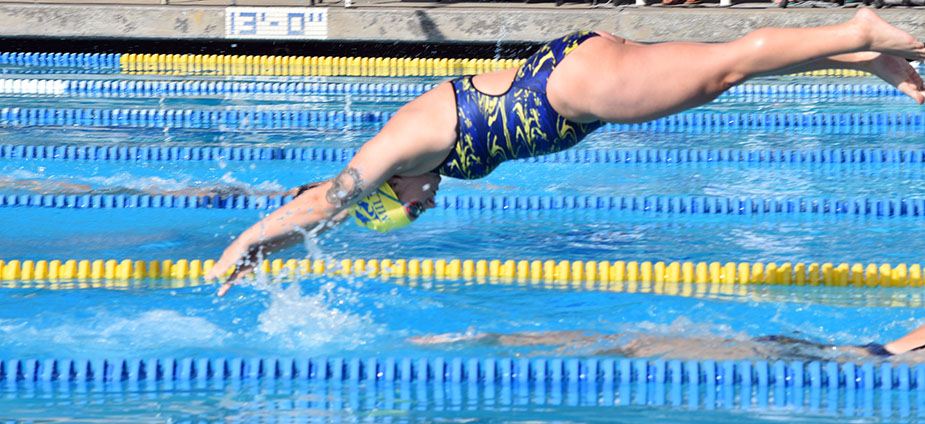 Swim Team off to a Strong Spring Semester