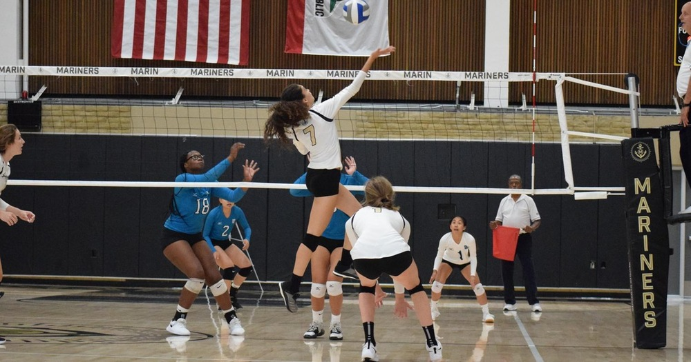 Mariners' Volleyball Drops BVC Match To Los Medanos 3-1