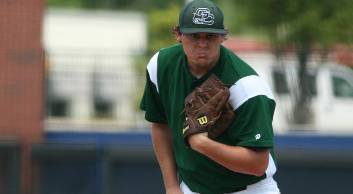 Blue Pitches Bobcat Baseball Past FMU at PBC Tournament
