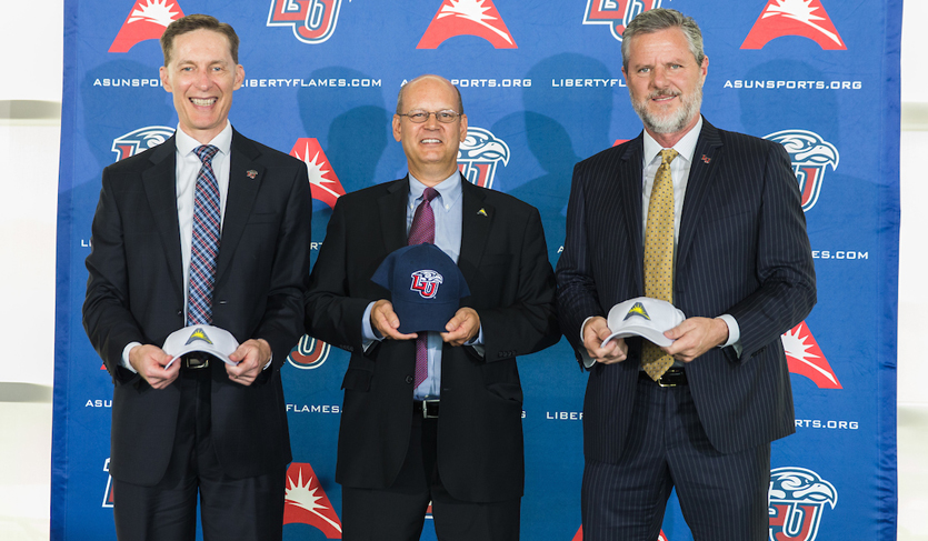 ASUN Conference Announces Liberty University as League Member for 2018-19