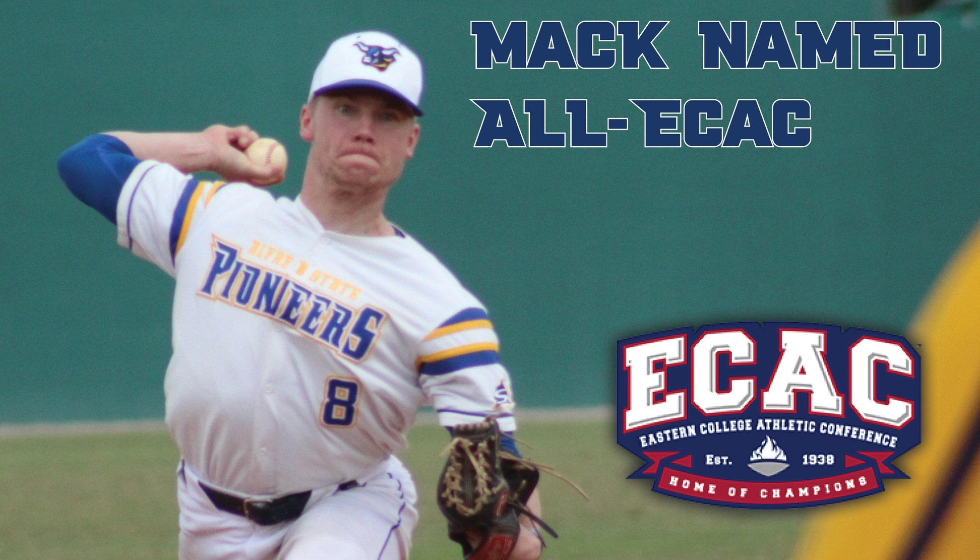 Garrett Mack Named All-ECAC