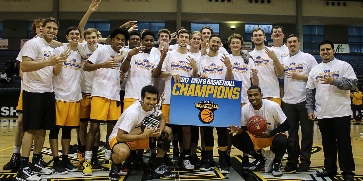 Texas Lutheran Men Win Third Straight SCAC Basketball Championship